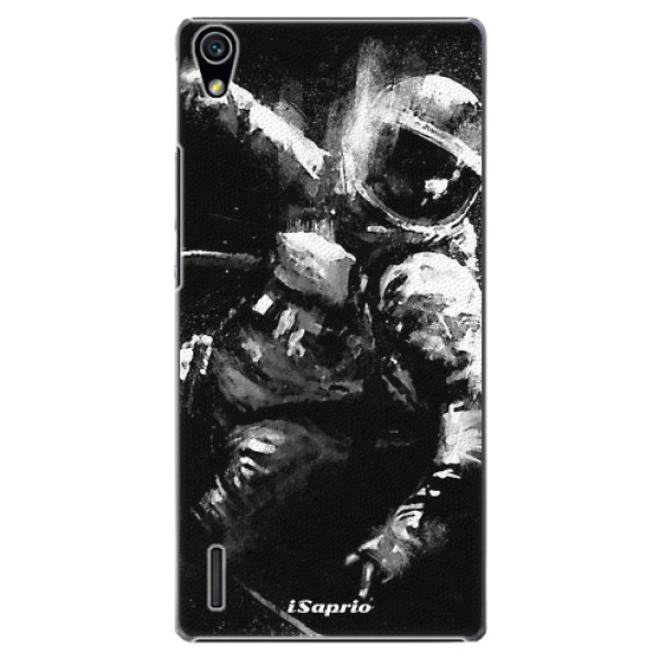 Plastové pouzdro iSaprio - Astronaut 02 - Huawei Ascend P7