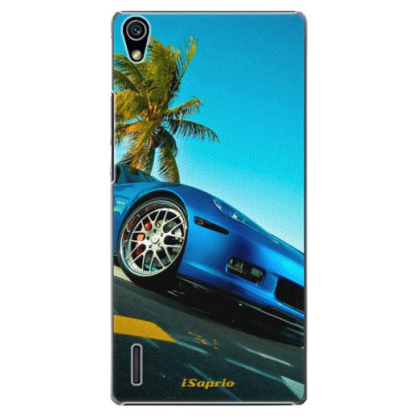 Plastové pouzdro iSaprio - Car 10 - Huawei Ascend P7