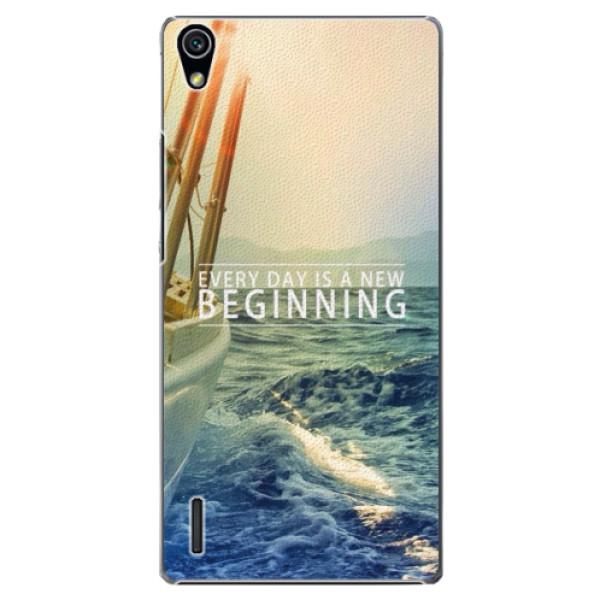 Plastové pouzdro iSaprio - Beginning - Huawei Ascend P7
