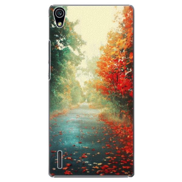 Plastové pouzdro iSaprio - Autumn 03 - Huawei Ascend P7