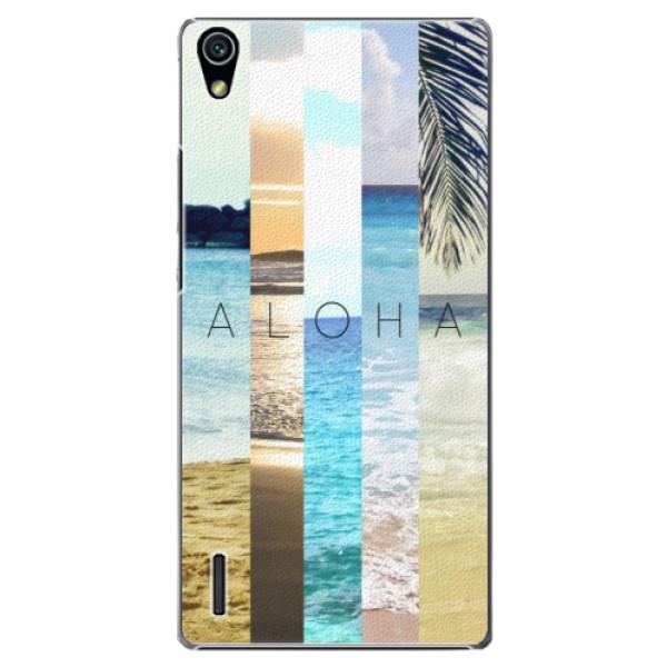 Plastové pouzdro iSaprio - Aloha 02 - Huawei Ascend P7