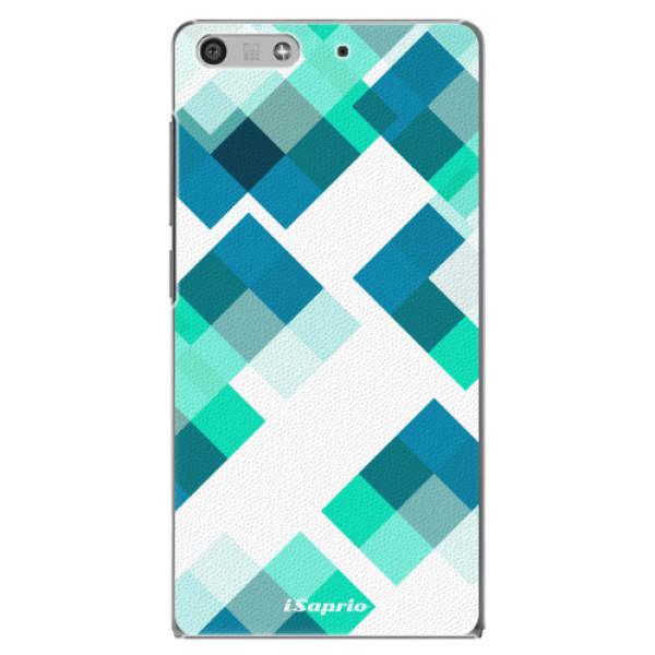 Plastové pouzdro iSaprio - Abstract Squares 11 - Huawei Ascend P7 Mini