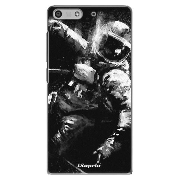 Plastové pouzdro iSaprio - Astronaut 02 - Huawei Ascend P7 Mini