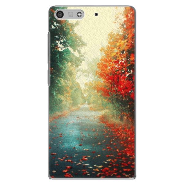 Plastové pouzdro iSaprio - Autumn 03 - Huawei Ascend P7 Mini