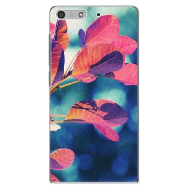 Plastové pouzdro iSaprio - Autumn 01 - Huawei Ascend P7 Mini