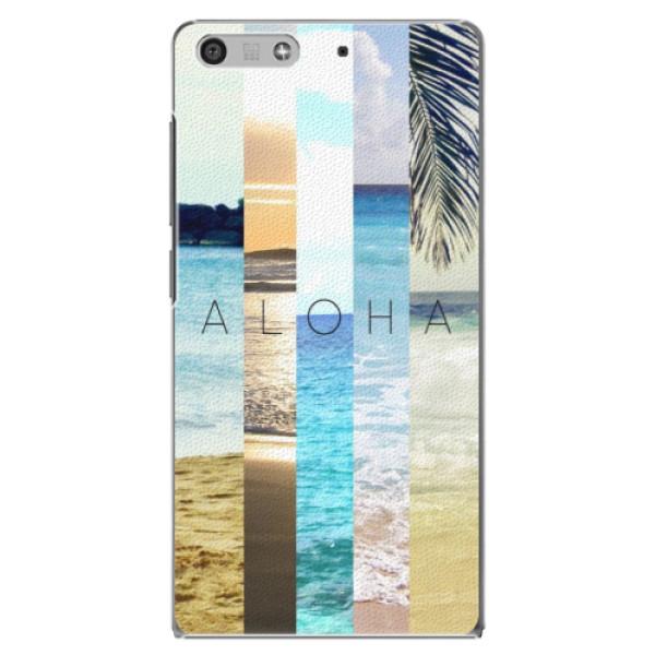 Plastové pouzdro iSaprio - Aloha 02 - Huawei Ascend P7 Mini