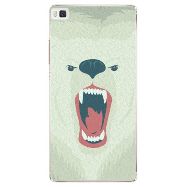 Plastové pouzdro iSaprio - Angry Bear - Huawei Ascend P8