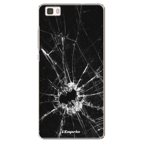 Plastové pouzdro iSaprio - Broken Glass 10 - Huawei Ascend P8 Lite
