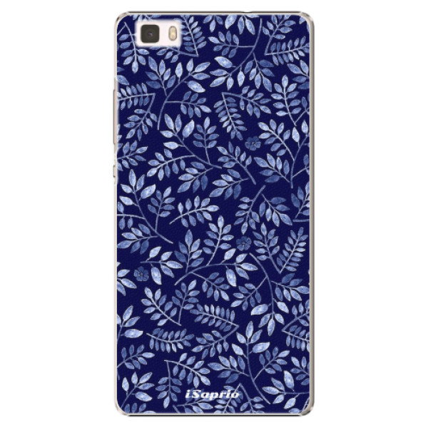 Plastové pouzdro iSaprio - Blue Leaves 05 - Huawei Ascend P8 Lite