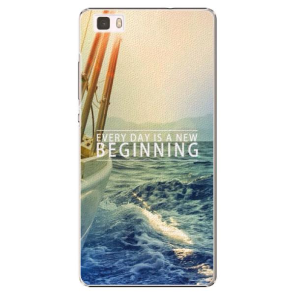 Plastové pouzdro iSaprio - Beginning - Huawei Ascend P8 Lite