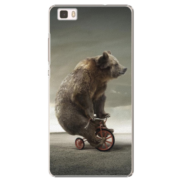 Plastové pouzdro iSaprio - Bear 01 - Huawei Ascend P8 Lite