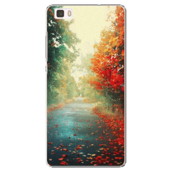Plastové pouzdro iSaprio - Autumn 03 - Huawei Ascend P8 Lite