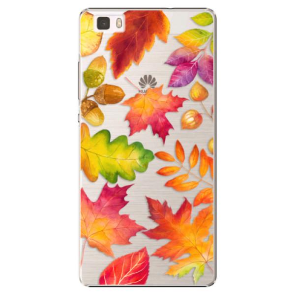 Plastové pouzdro iSaprio - Autumn Leaves 01 - Huawei Ascend P8 Lite