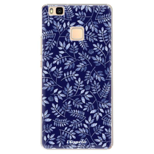 Plastové pouzdro iSaprio - Blue Leaves 05 - Huawei Ascend P9 Lite