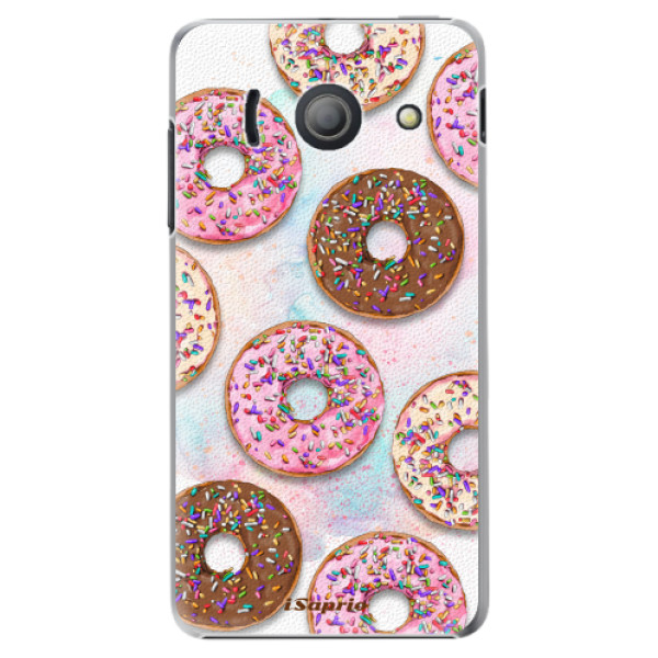 Plastové pouzdro iSaprio - Donuts 11 - Huawei Ascend Y300