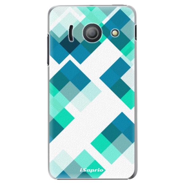 Plastové pouzdro iSaprio - Abstract Squares 11 - Huawei Ascend Y300