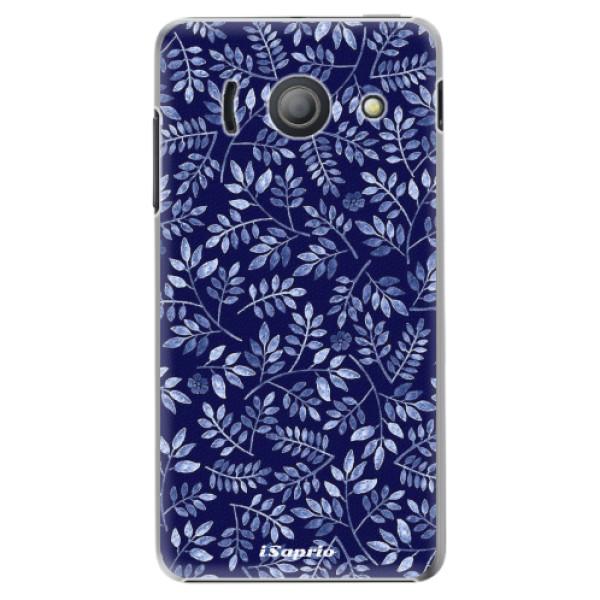 Plastové pouzdro iSaprio - Blue Leaves 05 - Huawei Ascend Y300