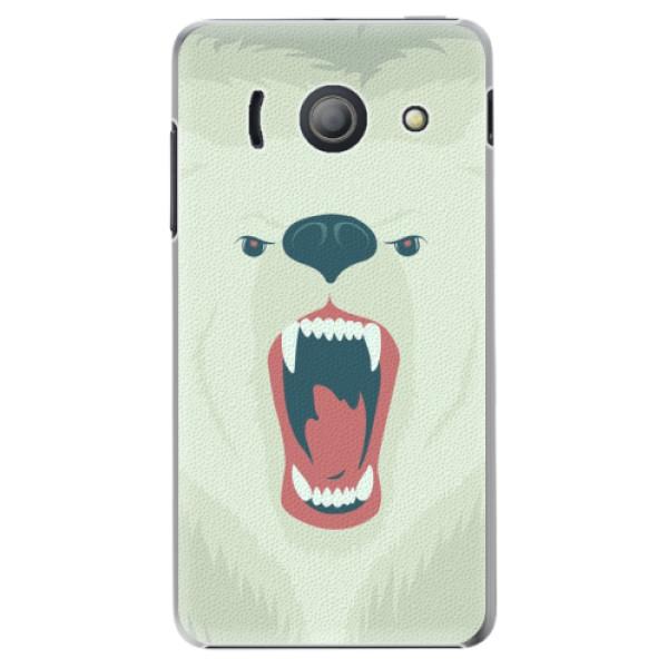Plastové pouzdro iSaprio - Angry Bear - Huawei Ascend Y300
