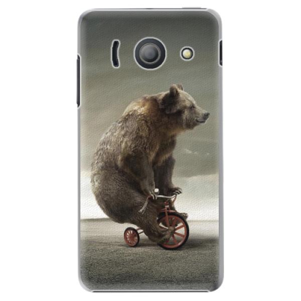 Plastové pouzdro iSaprio - Bear 01 - Huawei Ascend Y300