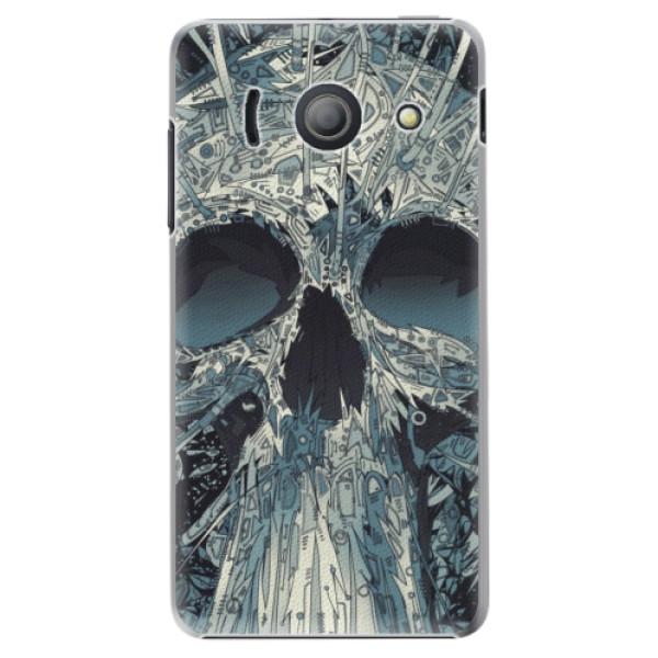 Plastové pouzdro iSaprio - Abstract Skull - Huawei Ascend Y300