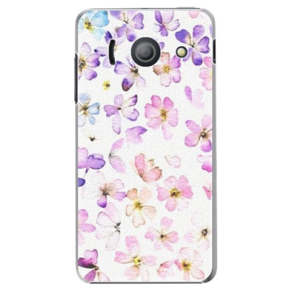 Plastové pouzdro iSaprio - Wildflowers - Huawei Ascend Y300