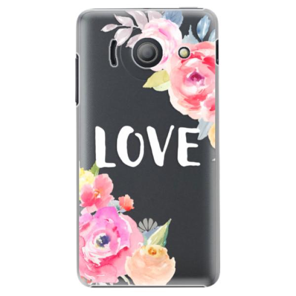 Plastové pouzdro iSaprio - Love - Huawei Ascend Y300