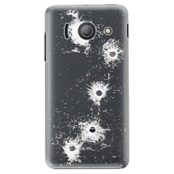 Plastové pouzdro iSaprio - Gunshots - Huawei Ascend Y300