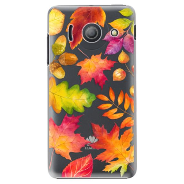 Plastové pouzdro iSaprio - Autumn Leaves 01 - Huawei Ascend Y300