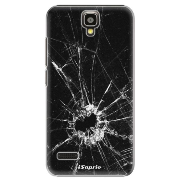Plastové pouzdro iSaprio - Broken Glass 10 - Huawei Ascend Y5