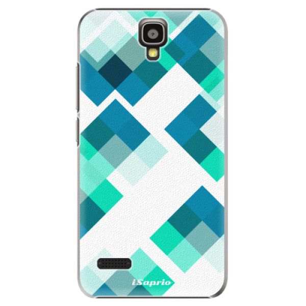 Plastové pouzdro iSaprio - Abstract Squares 11 - Huawei Ascend Y5