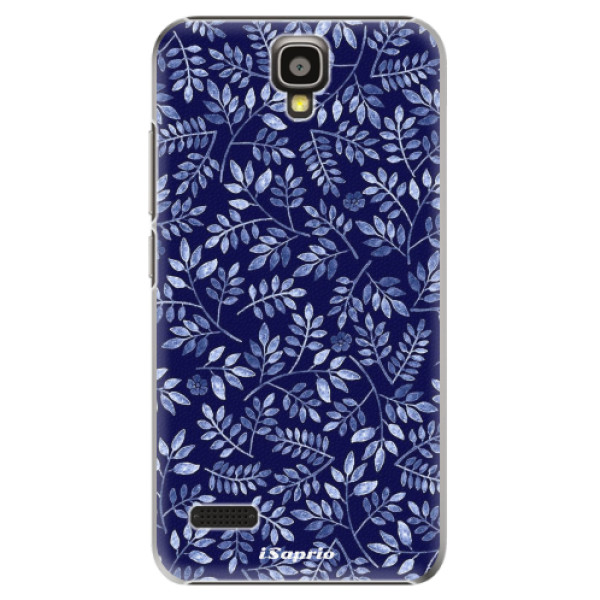 Plastové pouzdro iSaprio - Blue Leaves 05 - Huawei Ascend Y5