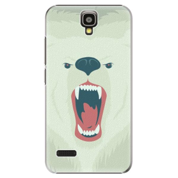Plastové pouzdro iSaprio - Angry Bear - Huawei Ascend Y5