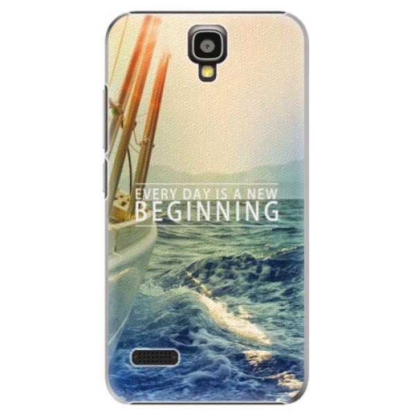 Plastové pouzdro iSaprio - Beginning - Huawei Ascend Y5