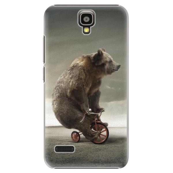 Plastové pouzdro iSaprio - Bear 01 - Huawei Ascend Y5