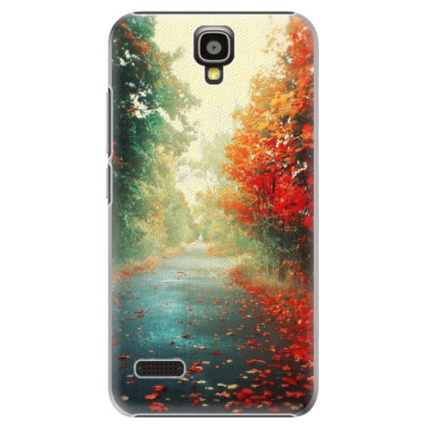 Plastové pouzdro iSaprio - Autumn 03 - Huawei Ascend Y5