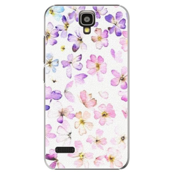 Plastové pouzdro iSaprio - Wildflowers - Huawei Ascend Y5