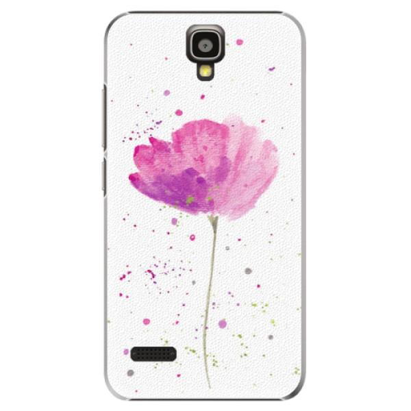 Plastové pouzdro iSaprio - Poppies - Huawei Ascend Y5