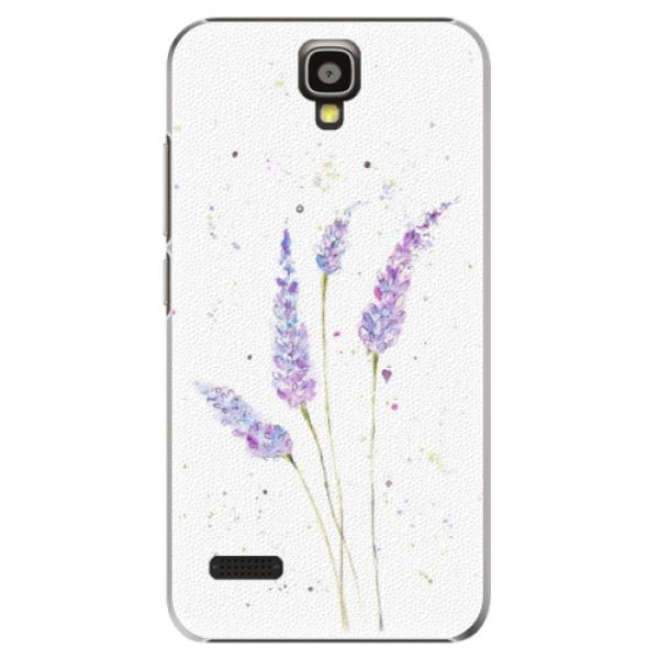 Plastové pouzdro iSaprio - Lavender - Huawei Ascend Y5