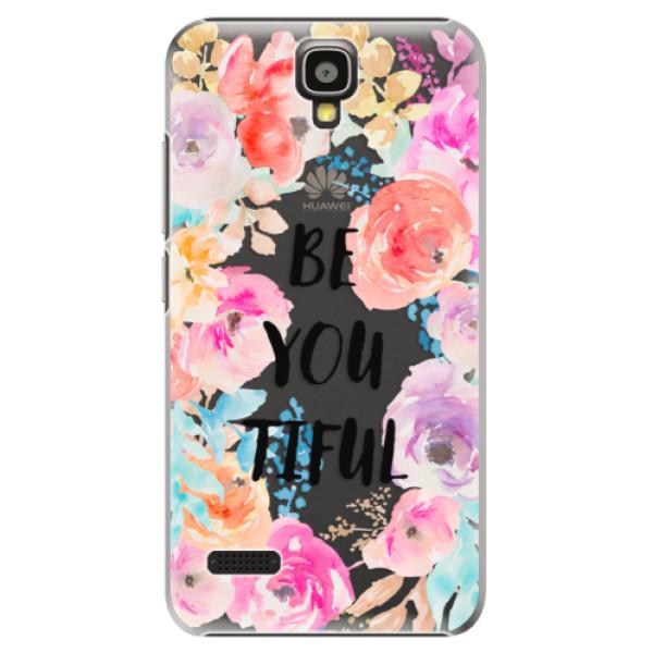 Plastové pouzdro iSaprio - BeYouTiful - Huawei Ascend Y5