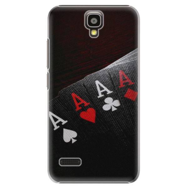 Plastové pouzdro iSaprio - Poker - Huawei Ascend Y5