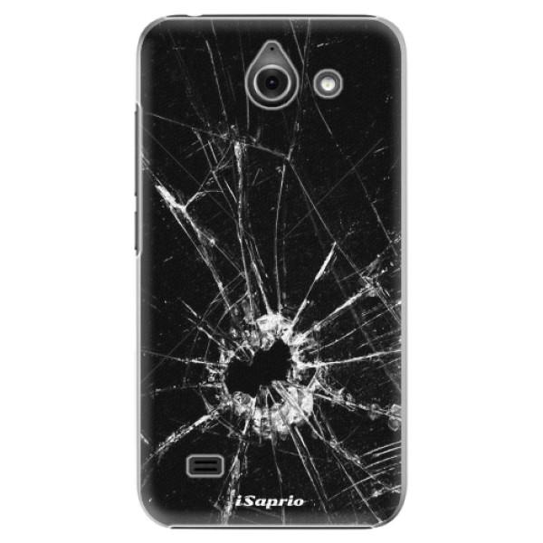Plastové pouzdro iSaprio - Broken Glass 10 - Huawei Ascend Y550