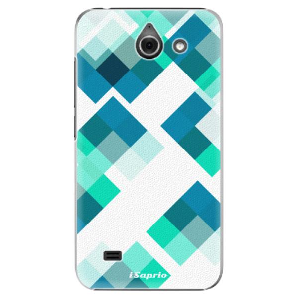 Plastové pouzdro iSaprio - Abstract Squares 11 - Huawei Ascend Y550
