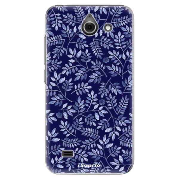 Plastové pouzdro iSaprio - Blue Leaves 05 - Huawei Ascend Y550