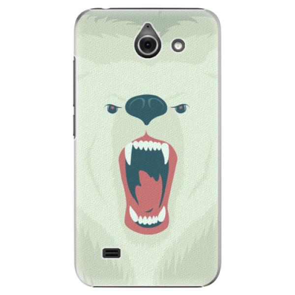 Plastové pouzdro iSaprio - Angry Bear - Huawei Ascend Y550