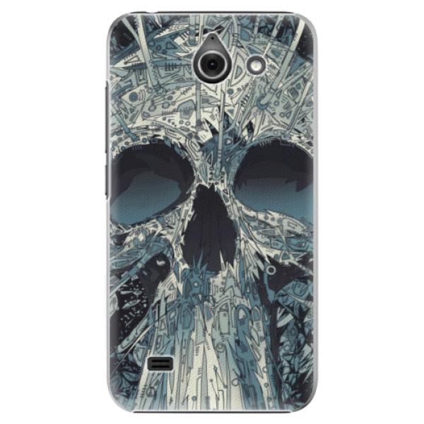 Plastové pouzdro iSaprio - Abstract Skull - Huawei Ascend Y550