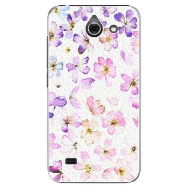 Plastové pouzdro iSaprio - Wildflowers - Huawei Ascend Y550