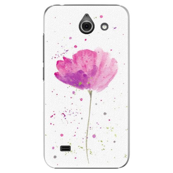 Plastové pouzdro iSaprio - Poppies - Huawei Ascend Y550