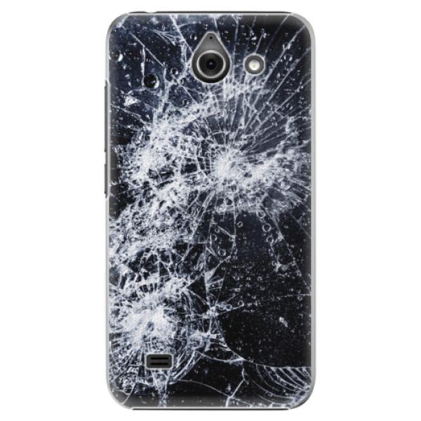 Plastové pouzdro iSaprio - Cracked - Huawei Ascend Y550