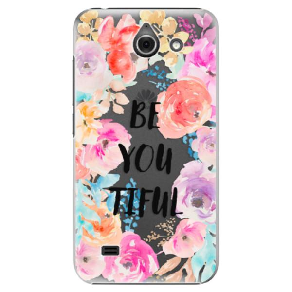 Plastové pouzdro iSaprio - BeYouTiful - Huawei Ascend Y550