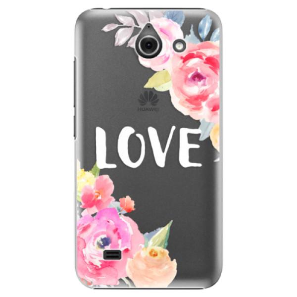 Plastové pouzdro iSaprio - Love - Huawei Ascend Y550